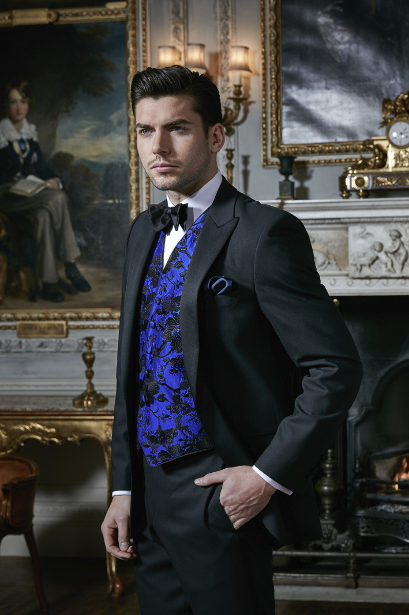 Men's black-tie dinner suit   Neal & Palmer