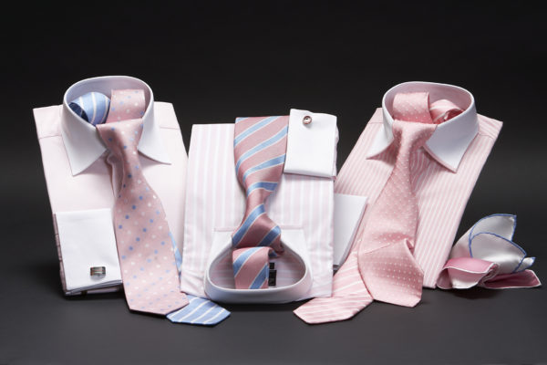 White collar and cuff two fold super fine cotton shirts