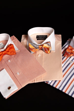 Superfine twofold cotton white collar and cuff mens shirts